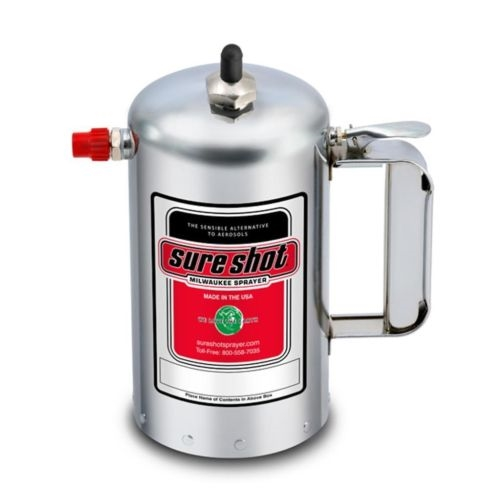 Sure Shot Sprayer Model A1102 Adjustable Nozzle Nickel Plated
