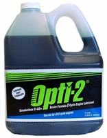 Opti-2 Universal Mix 2 Cycle Oil 1 Gallon 20044 Case of 4
