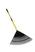 "Structron® S600 Power™ 24"" Poly Leaf Rake 40872"