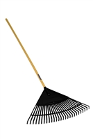 "Seymour® S400 Jobsite™ 24"" Poly Leaf Rake 40882"