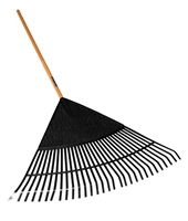 "Seymour® S400 Jobsite™ 32"" Poly Leaf Rake 40885"