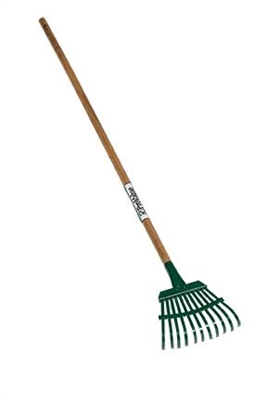 "Seymour® ProValue 7"" Flexible Steel Shrub Rake 43101"