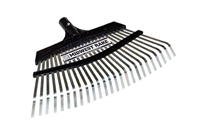 "Seymour® Midwest Rake 24"" Steel Tine Pro-Flex Replacement Head 43353"