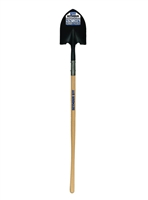 "Seymour® S500 Industrial™ Round Point Shovel 48"" Precision Wood 49330"