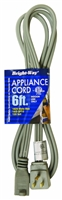 Bright-Way 6 ft Appliance Extension Cord 6AC Case of 10