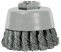 "Century Drill & Tool 3"" Angle Grinder Cup Brush 76023"