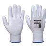 Portwest Chemical Antistatic PU Palm Gloves Gray A199