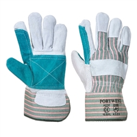 Portwest Double Palm Rigger Gloves Chrome A230