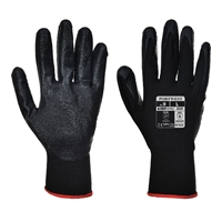 Portwest Nitrile Dexti-Grip General Handling Gloves Black A320