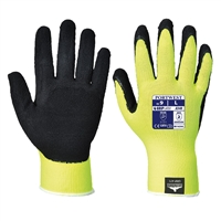Portwest General Handling Hi Vis Grip Glove Yellow/Black A340