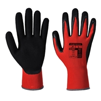 Portwest Red Cut 1 Cut Resistant Gloves Red/Black A641