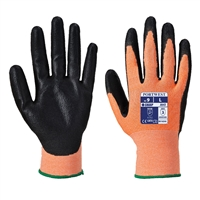 Portwest Amber Cut 3 Cut Resistant Gloves Amber/Black A643