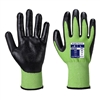 Portwest Green Cut 5 Cut Resistant Gloves Green/Black A645