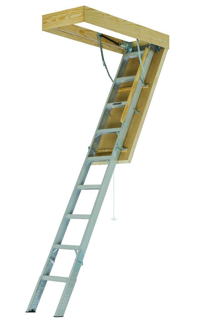 Louisville Ladder Energy Efficient Aluminum Attic Ladder