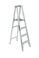 Louisville Ladder 4 Foot Aluminum Industrial Platform Step Ladder AP1004
