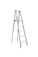 Louisville Ladder 5 Foot Aluminum Industrial Platform Step Ladder AP1005
