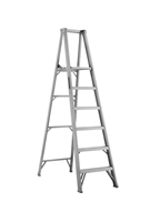 Louisville Ladder 6 Foot Aluminum Industrial Platform Step Ladder AP1006
