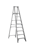 Louisville Ladder 8 Foot Aluminum Industrial Platform Step Ladder AP1008
