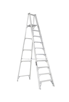 Louisville Ladder 10 Foot Aluminum Industrial Platform Step Ladder AP1010