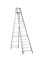 Louisville Ladder 16 Foot Aluminum Industrial Platform Step Ladder AP1016