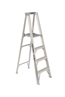 Louisville Ladder 4 Foot Aluminum Industrial Platform Step Ladder AP1104HD