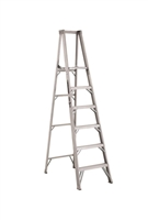 Louisville Ladder 6 Foot Aluminum Industrial Platform Step Ladder AP1106HD