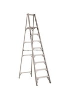Louisville Ladder 8 Foot Aluminum Industrial Platform Step Ladder AP1108HD