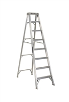 Louisville Ladder 8 Foot Aluminum Industrial Step Ladder AS1008