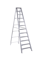 Louisville Ladder 12 Foot Aluminum Industrial Step Ladder AS1012