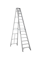 Louisville Ladder 14 Foot Aluminum Industrial Step Ladder AS1014