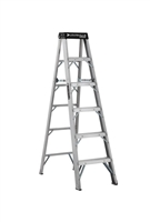 Louisville Ladder 6 Foot Aluminum Industrial Step Ladder AS1106HD