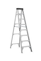 Louisville Ladder 8 Foot Aluminum Industrial Step Ladder AS1108HD