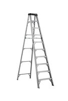 Louisville Ladder 10 Foot Aluminum Industrial Step Ladder AS1110HD