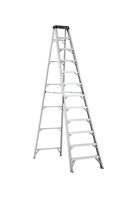 Louisville Ladder 12 Foot Aluminum Industrial Step Ladder AS1112HD