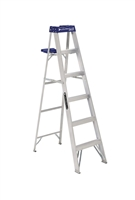 Louisville Ladder 6 Foot Aluminum Lightweight Step Ladder AS2106
