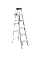 Louisville Ladder 6 Foot Aluminum Industrial Step Ladder AS3006