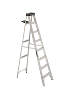 Louisville Ladder 8 Foot Aluminum Industrial Step Ladder AS3008