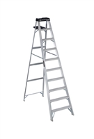 Louisville Ladder 10 Foot Aluminum Industrial Step Ladder AS3010