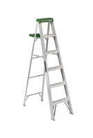 Louisville Ladder 6 Foot Aluminum Industrial Step Ladder AS4006