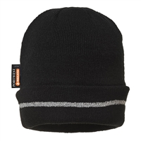 Portwest Reflective Trim Knit Hat Insulatex Lined B023