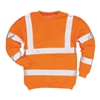 Portwest Hi-Vis Sweatshirt Orange B303
