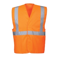 Portwest Hi-Vis One Band & Brace Vest C472