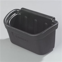 Carlisle Silverware Bin for Bussing Cart Black