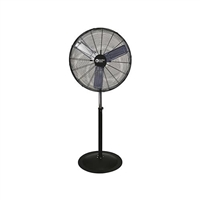 "Comfort Zone CZHVP30 30"" High Velocity Industrial Pedestal Fan"