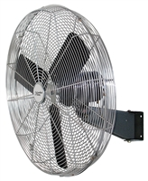 "Comfort Zone CZHVW30 30"" High Velocity Oscillating Wall Fan"