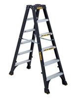 Dewalt 6 ft Fiberglass Twin Front Stepladder 300 lbs Load Capacity DXL3030-06