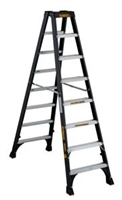Dewalt 8 ft Fiberglass Twin Front Stepladder 300 lbs Load Capacity DXL3030-08