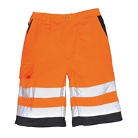 Portwest Hi-Vis Polycotton Shorts E043