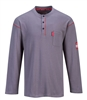Portwest Bizflame Button Down Crew Neck Shirt FR02