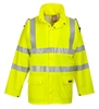 Portwest Sealtex Flame Hi-Viz Jacket Yellow FR41
